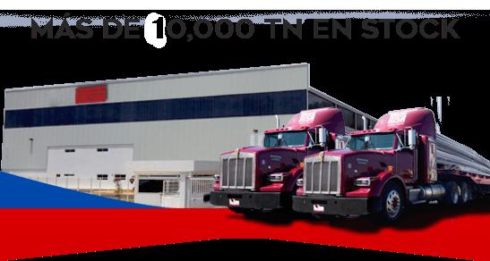 Más de 10,000 toneladas en stock, Aceros Torices.