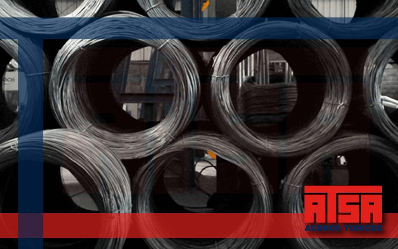Rollo de alambron de acero