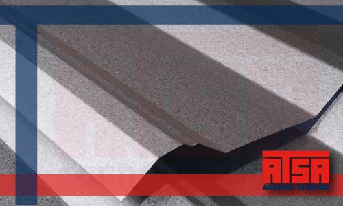 Venta de lámina de acero Zintroalum R101; láminas económicas en Aceros Torices.