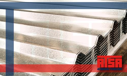Lámina de acero galvanizado R101