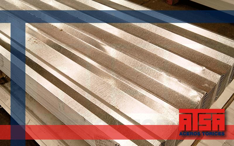 Lámina de acero Galvanizado R72, recubrimiento zintro.