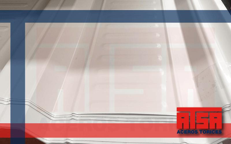Lámina de acero RN100/35, lámina acanalada pintro Ternium al mejor precio.