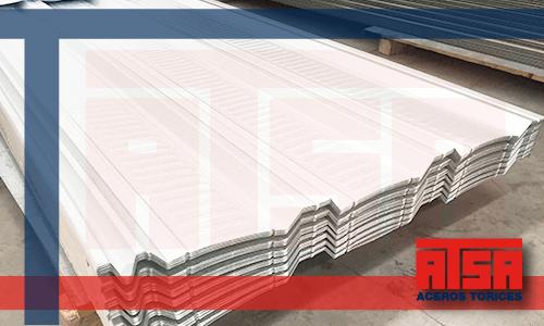 Lámina de acero RN100/35 con recubrimiento zintroalum al mejor precio.
