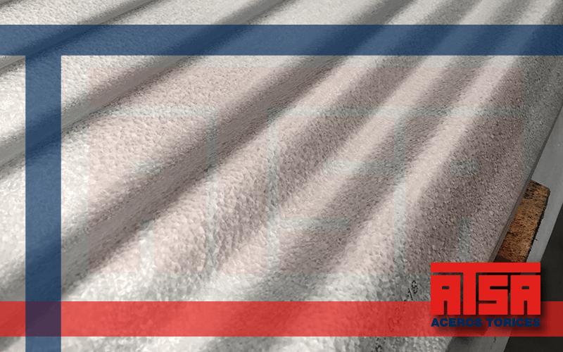 Lámina de acero zintroalum; perfil ondulado Ternium.