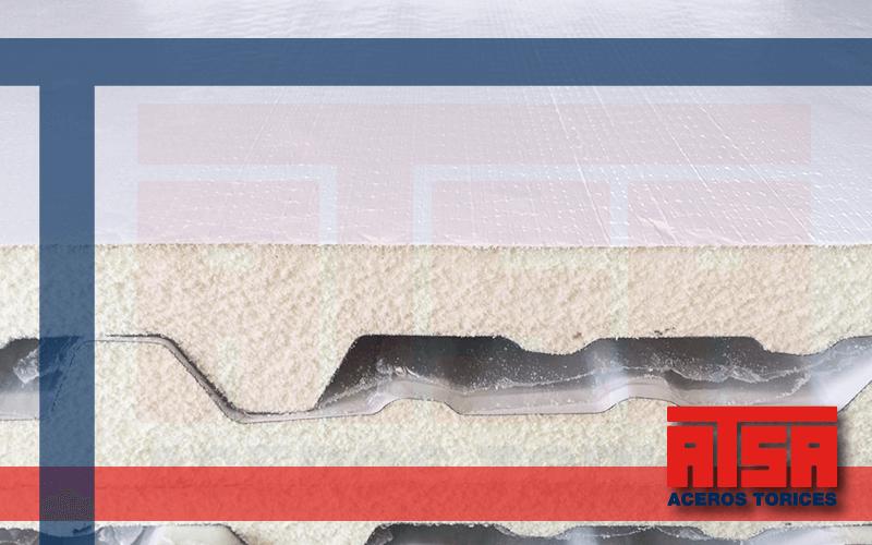 Panel Econotecho fabricado con acero Ternium, venta al mejor precio.