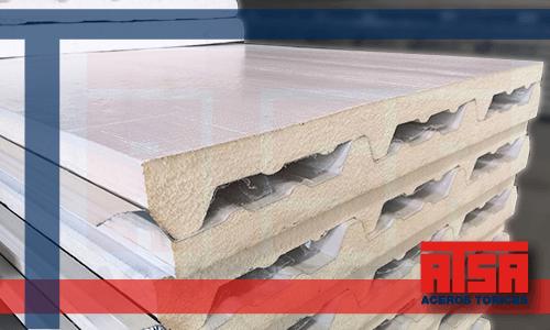 Panel Econotecho calidad Ternium; el mejor precio en Aceros Torices.