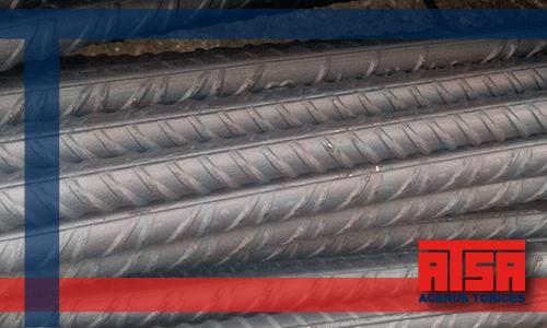 Varillines corrugadas de acero
