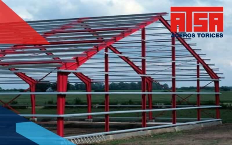 Polín monten de acero estructural al mejor precio.