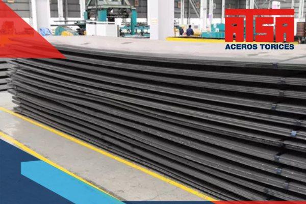 El acero ASTM A36 es el más utilizado en los aceros suaves y laminados en caliente. Tiene excelentes propiedades para construcción.